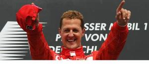 Michael Schumacher, 7-times F1 World Champion. 94-95, 2000-2004.