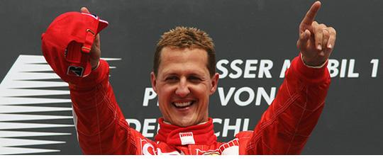 Michael Schumacher, 7-time F1 World Champion. 94-95, 2000-2004.