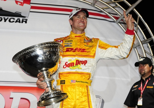 Ryan Hunter-Reay, 2012 Izod IndyCar Champion.