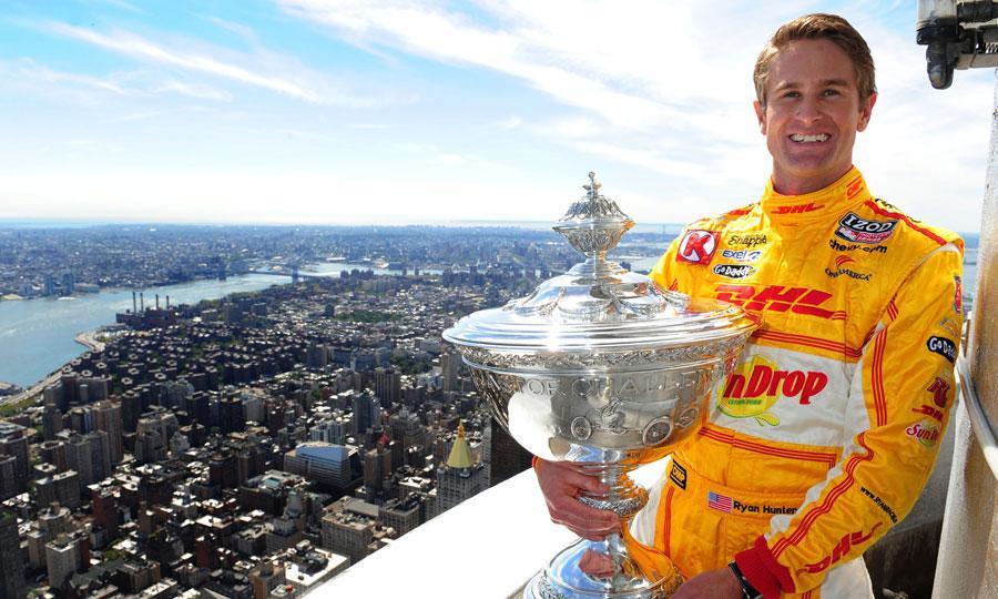 Ryan Hunter-Reay, 2012 Izod IndyCar Series Champion.