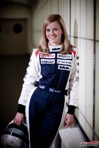 Susie Wolff, Development Driver for Williams F1 Team.