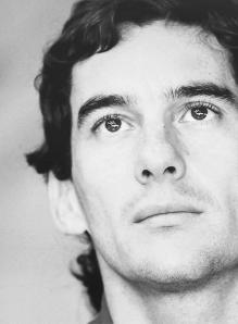 Ayrton Senna (1960 - 1994) 3 times F1 World Champion.