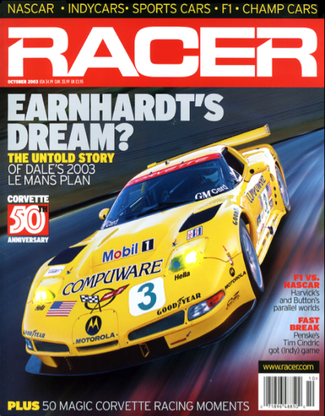 RACER Cover