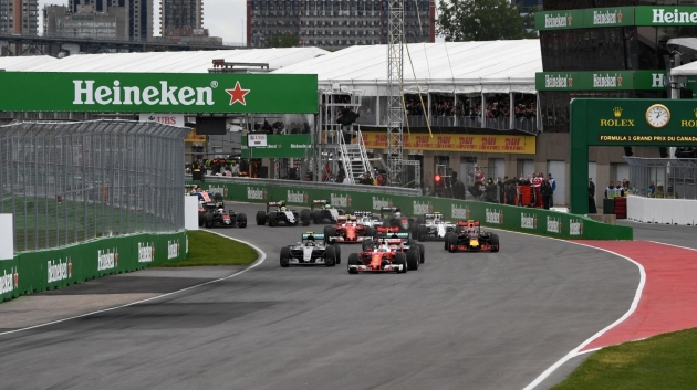 2016 Canadian GP Start