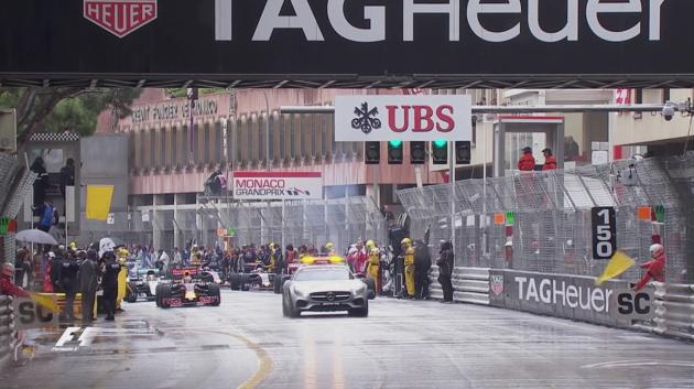 2016 Monaco GP Start