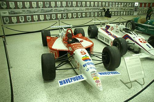 Auto de Luyendyk en el Museo