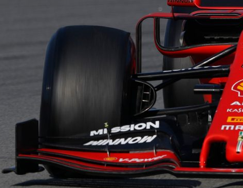 Ferrari brake duct