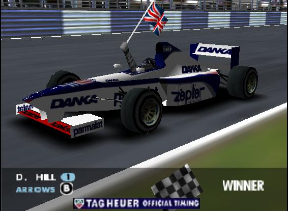F1 WGP - Silverstone - Hill wins
