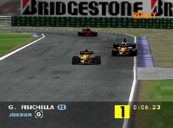 F1 WGP - Hockenheinm - Last lap