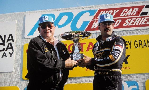 1992 CART - Laguna Seca Rahal champion