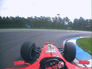 Horquilla - Imágenes gentileza de Formula One Management.
